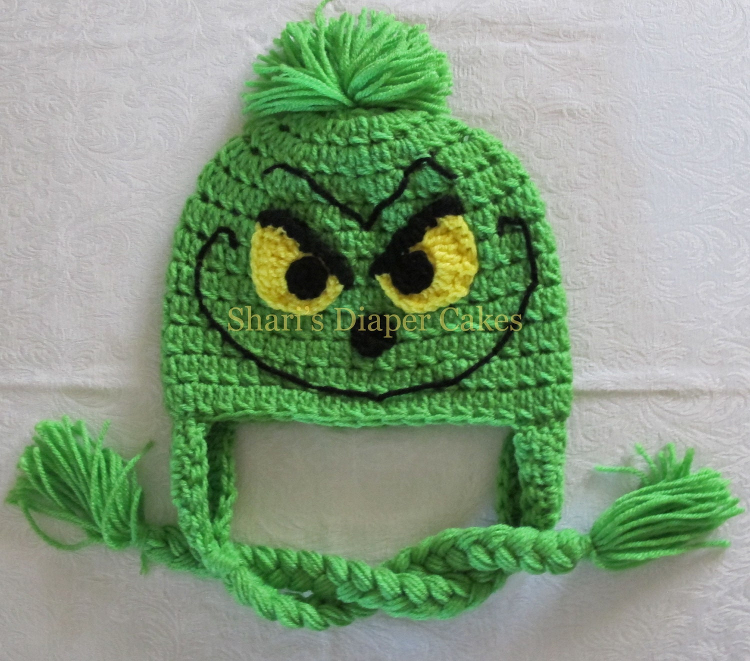 Free Pattern For Crochet Grinch Hat 47a6e85635c