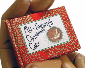 Miss Fogarty's Christmas Cake - Miniature Book