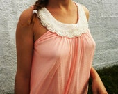 SALE - Tank with pearls,Top, Dress - PEARLS DREAM -