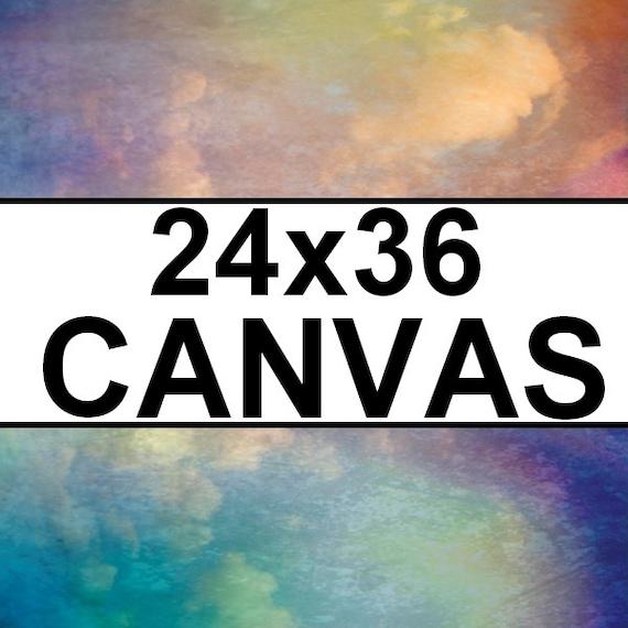Custom 24x36 Canvas Wrap Fine Art Wall Home Decor