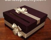 Custom Wedding Card Box - Made To Order