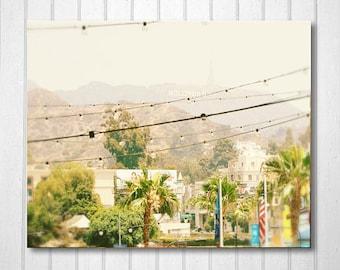 BUY 2 GET 1 FREE California Art, California Wall Art, Hollywood Sign, Home Decor, Wall Decor, Fine Art Print, California Decor, Los Angeles