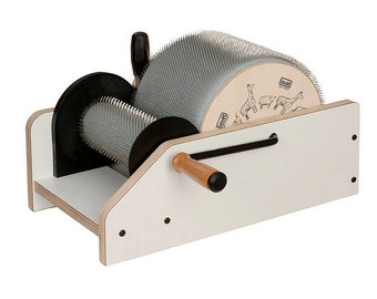 Drum Carder, Drum Carders, Louet Drum Carders, New to Louet - Louet  Drum Carder Standard Model - with  EXTRA FINE Cloth 72 TPI