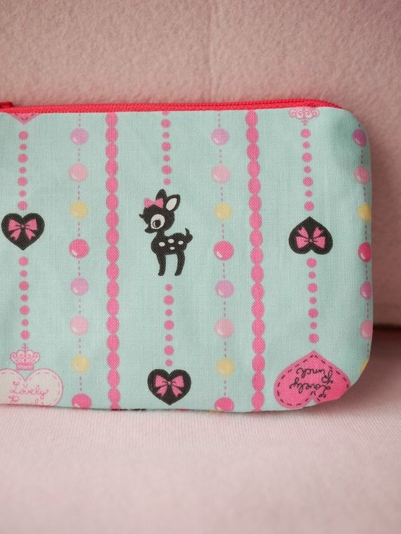 Sweety Bambi Mini Zipper Pouch
