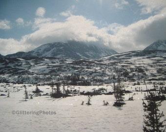 Skagway, Alaska, Mountains, No. 1, Fine Art, Photograph, Print, Glossy, OOAK