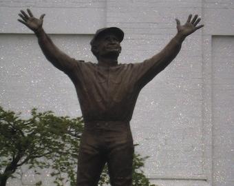 Jockey, Pat Day, Statue, Churchill Downs, Racetrack, Fine Art, Photography, Print, Glossy, OOAK