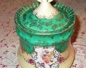 REDUCED -  ANTIQUE Victoria Carlsberg Austria Biscuit Tin Cookie Jar from 1891-1918 MINT Condition