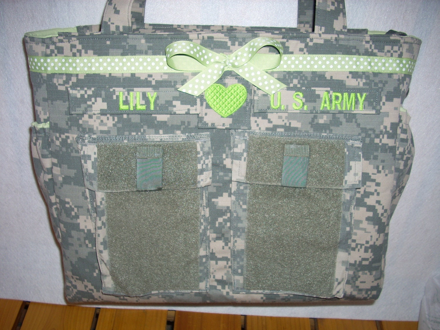 Army Multicam Navy Marine ABU diaper bag by bythebayoriginals