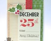 Handmade Card - December 25th