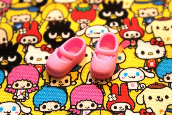 Middie Blythe Baby Pink Mary Jane shoes
