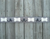 Pet lovers Personalized leash hooks, dog lovers leash hanger, pups' names, double hooks,birthday gift idea him or her