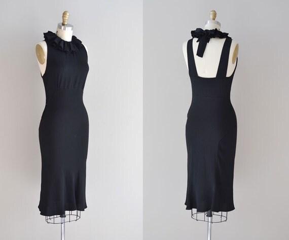 1930s dress / bias 30s dress / Phedre rayon dress