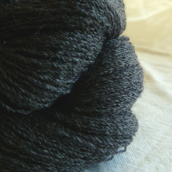 Silver Fox Extra Fine Merino Wool Recycled Lace Weight Yarn