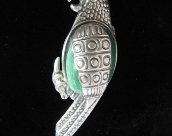 Vintage Mexican Silver Bird Brooch