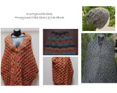HoneyComb Cable Shawl and Cap Patterns