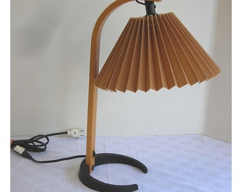 Caprani Light Lamp Rare Desk Table Size HTF Works Vintage Danish Modern