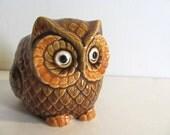 Vintage Owl Planter // Inarco - Japan