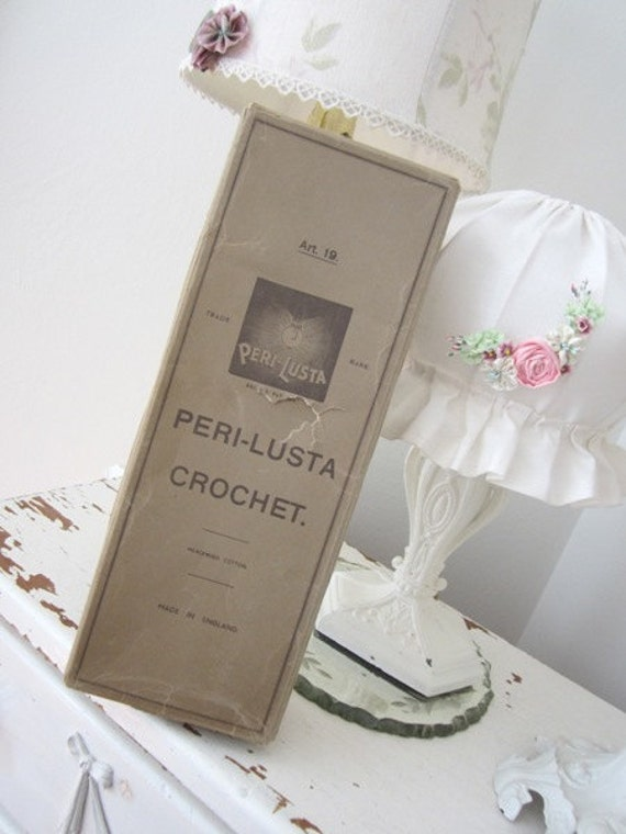 Vintage Crochet Spools - Made in England - In Original Box