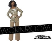 Project Runway Tunic and Pants Pattern - New Look 6083 - Size 8 to Size 18 - Uncut, Factory Folds - Workroom Sewing Pattern