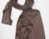 Scarf - HOPS - Tri-Blend Extra Long Jersey Wrap American Apparel (3 Colors Available)
