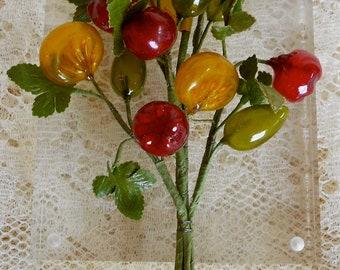 1930's Plastic Berries Bouquet
