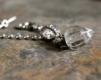 Bottle Necklace Secret love message Crystal Bottle Pendant vial phial gift for confirmation pendant small bottle necklace N4