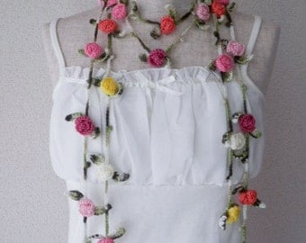 Lovely Rose Lariat Set of 2