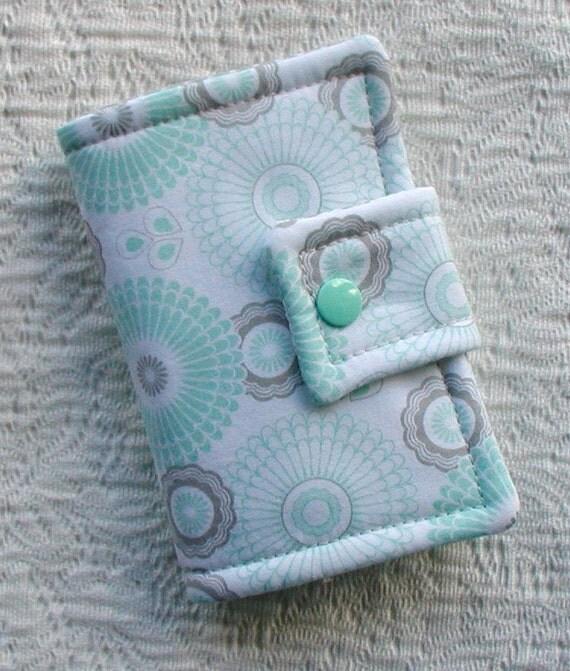 Tea Wallet ...Willow in Green