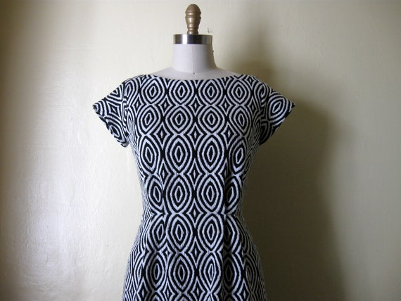 Op Art Mini dress Sz S