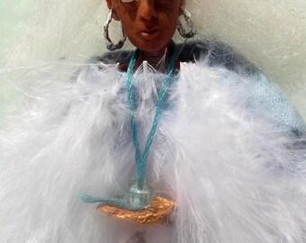 Little Wing- Hendrix-inspired OOAK Original Artist's Doll