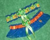 New Handmade wedding garters keepsake and toss SCOOBY DOO wedding garter set