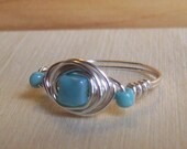 Wire Wrapped Ring Size 7
