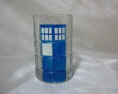 TARDIS glass - single