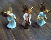 Christmas Ornaments - 6 Tiny Angels