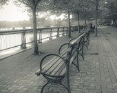 Benches in Hoboken, NJ Photography Fine Art