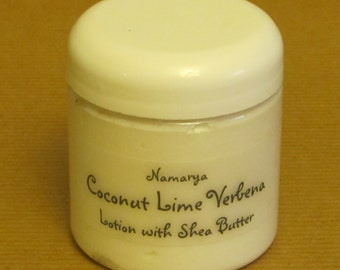 Coconut Lime Verbena Lotion with Shea Butter