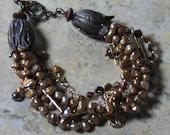 Multistrand Pearl Bracelet