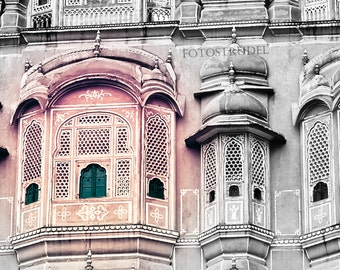 """Jaipur, India Photograph. The Palace of the Wind. 5"""" x 5"""" Photo"""