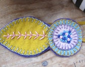 Wool Flora Headband
