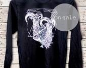 On Sale - Mount Kenya - Unisex Fine Jersey Long Sleeve Shirt - by Simka Sol