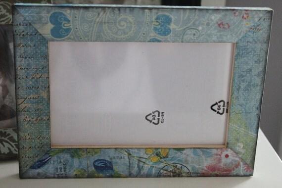 4x6 Distressed Vintage Summer frame
