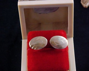 REDUCED~ ANSON 12KT Gold Fill 1950's Men's Cuff Links