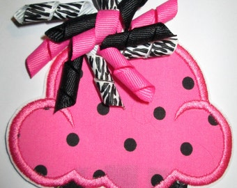 Iron On Applique - Cupcake 999200zp