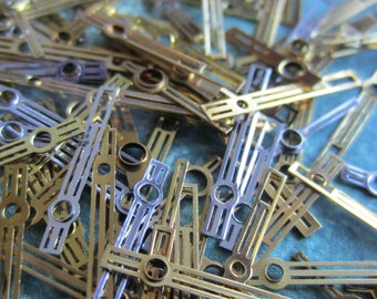 Vintage  Watch parts Hands- Steampunk - Scrapbooking Y88