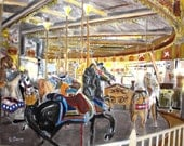 The Carousel at Seaside ---SIGNED PRINTS 8 X 10 - 15.00, 11 x 14 - 25.00, 13 X 19- 35.00. Message me and I will list them .