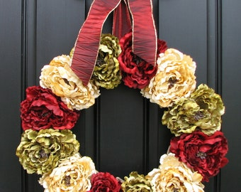 Winter Wreath, Holiday Wreaths, Christmas Decor, Front Door Wreaths, Holidays, Traditional Decor