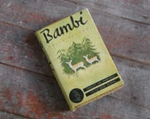 Miniature Book --- Bambi