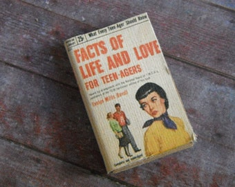 Miniature Book --- Facts of Life and Love for Teenagers
