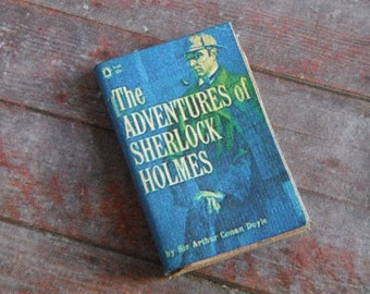 Miniature Book --- The Adventures of Sherlock Holmes
