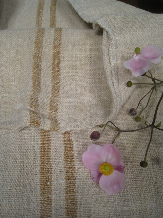 This amazing grain sack is reserved for Karen, thank you so much for understanding